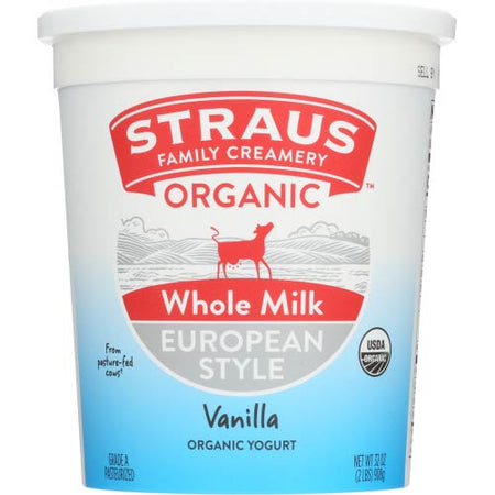 Straus - Yogurt Vanilla - 32 OZ
