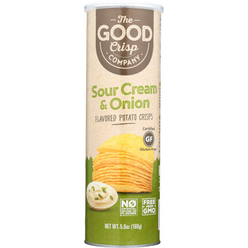 The Good Crisp - Chip Sour Cream Onion - 5.6 OZ