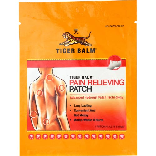 Tiger Balm - Patch Pain Relvng - 1 EA