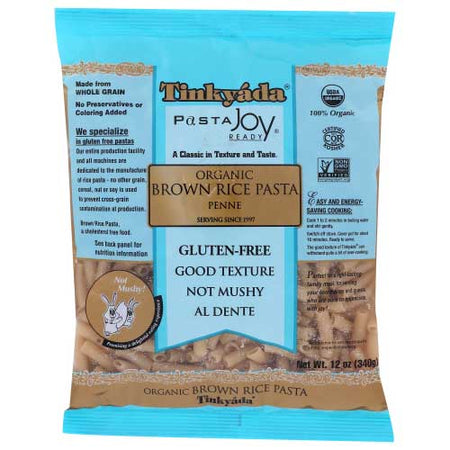 Tinkyada - Pasta Brown Rice Penne Gf - 12 OZ