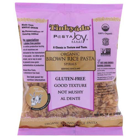 Tinkyada - Pasta Brown Rice Spiral  Gf - 12 OZ