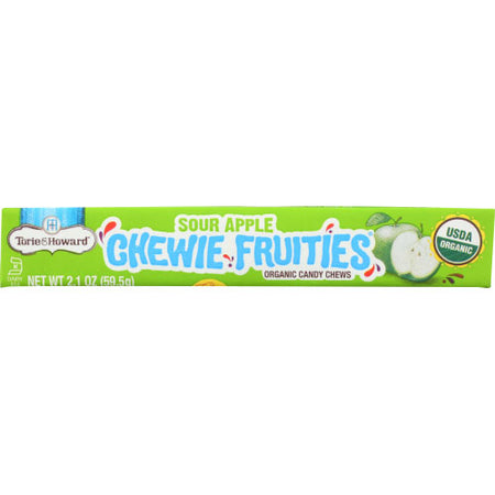 Torie & Howard - Candy Fruit Chew Sour Apple - 2.1 OZ