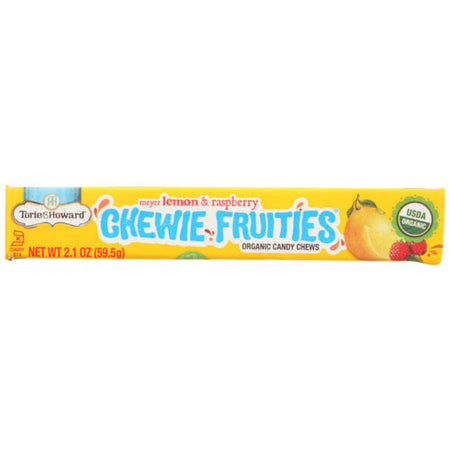 Torie & Howard - Candy Fruit Chew Lemon Raspberry - 2.1 OZ