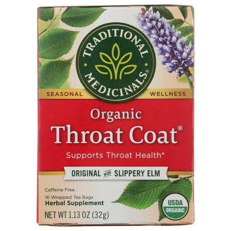 Traditional Medicinals - Tea Throat Coat - 16 BG