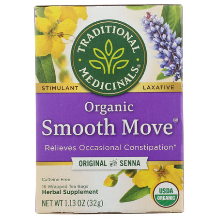 Traditional Medicinals - Tea Smooth Move - 16 BG