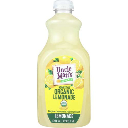 Uncle Matts Organic - Juice Lemonade - 52 OZ