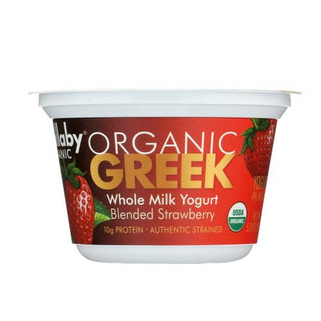 Wallaby - Yogurt Greek Whole Milk Strawberry - 5.3 OZ