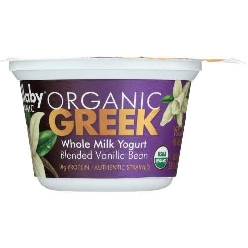 Wallaby - Yogurt Greek Whole Milk Vanilla - 5.3 OZ