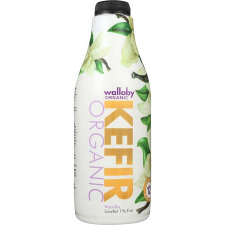 Wallaby - Kefir Low-Fat Vanilla  - 32 OZ