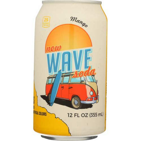 Wave - Soda Mango  - 12oz