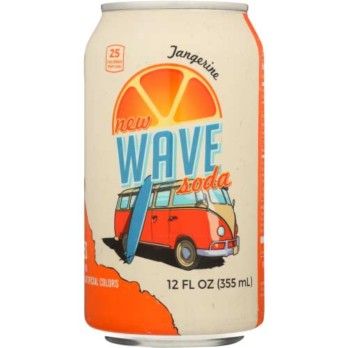 Wave - Soda Tangerine  - 12oz
