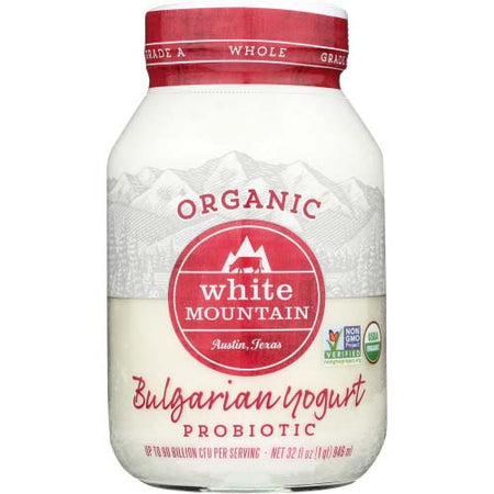 White Mountain - Yogurt Bulgarian Whole Milk Plain - 32 OZ