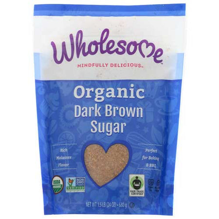 Wholesome - Sugar Brown Dark - 24 OZ