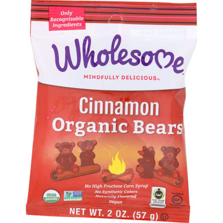 Wholesome - Cinnamon Bears Org - 2 OZ / 6 OZ