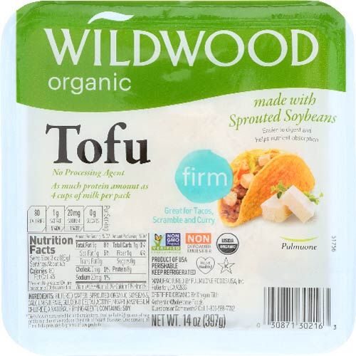 Wildwood - Tofu Sprout Firm Org - 14 OZ