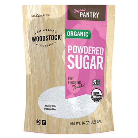 Woodstock - Sugar Powdered - 16 OZ