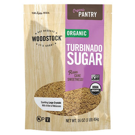 Woodstock - Sugar Turbinado - 16 OZ