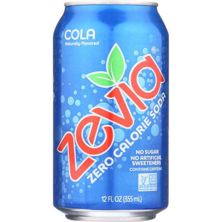 Zevia - Soda Cola  - 12oz