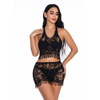 Fantasias Sexy Lace Lingerie Sexy Hot Erotic Costumes Women's Transparent Sex Underwear Nightwear Female Temptation Sex Clothes