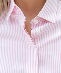 Bold Striped Cotton Shirt