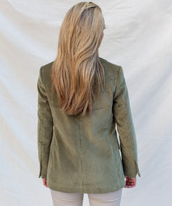 Relaxed Cord Blazer