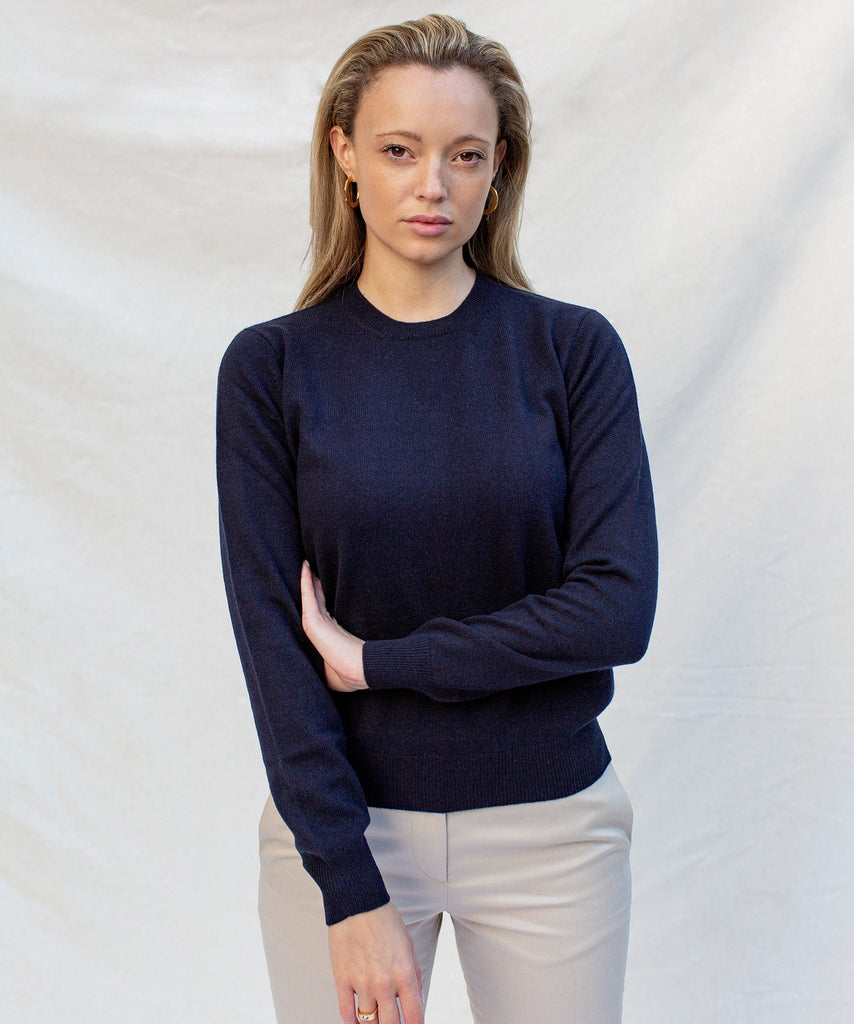 Cashmere Roundneck Sweater