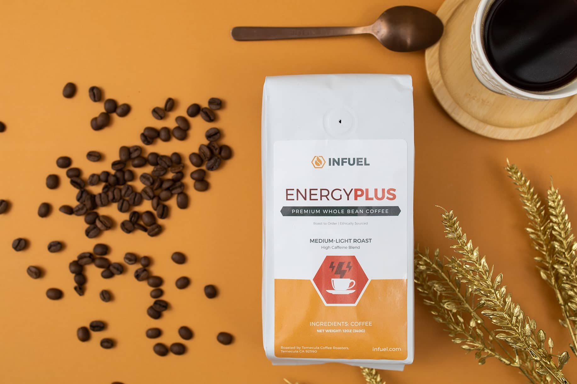 Infuel Energy PLUS Coffee