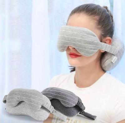 Sleeping Mask with Pillow - One Level