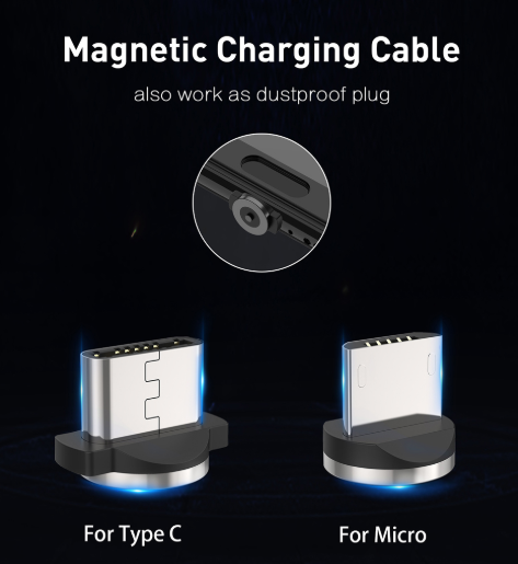 Magnetic charging cable - One Level