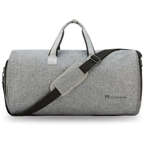 Elegant travel duffel bag