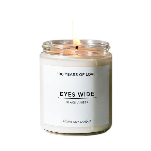 100 Years of Love Eyes Wide Candle - Thirty Six Knots
