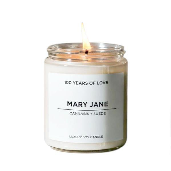 100 Years of Love Mary Jane Candle - Thirty Six Knots