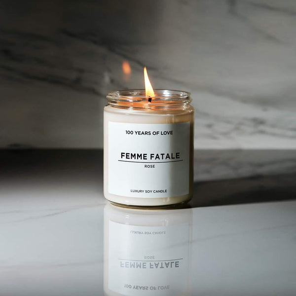 100 Years of Love Femme Fatale Candle - Thirty Six Knots