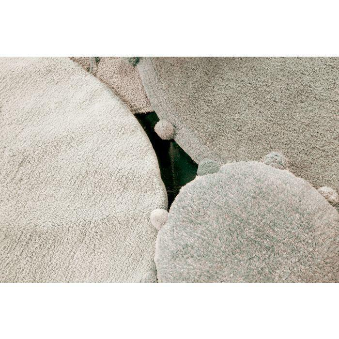 Lorena Canals Floor cushion Bubbly Olive - Thirty Six Knots