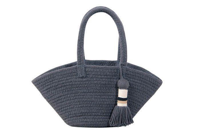 Lorena Canals Basket Cistell Dark Grey - Small - Thirty Six Knots - thirtysixknots.com