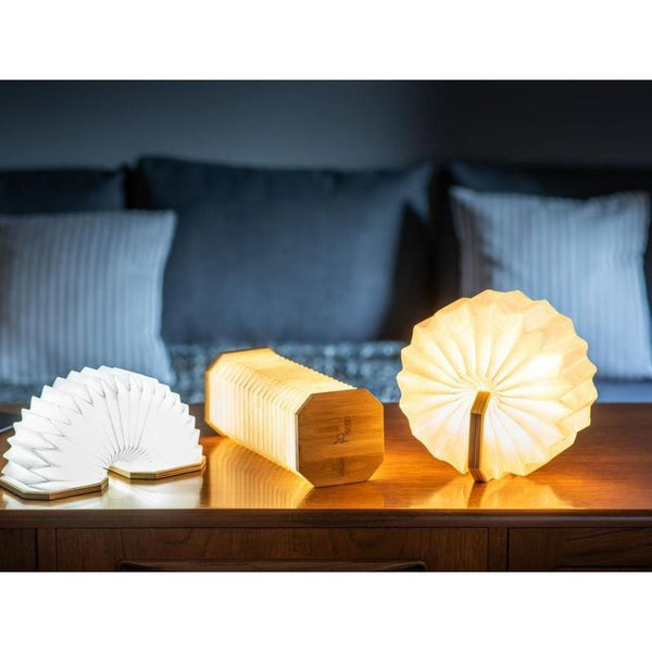 Gingko Smart Accordion Lamp - Thirty Six Knots - thirtysixknots.com