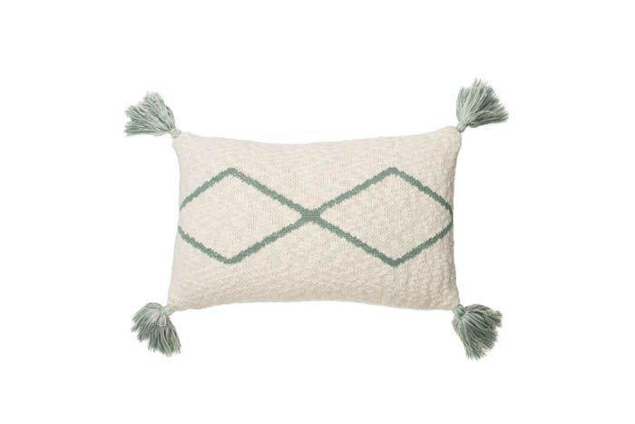 Lorena Canals Knitted Cushion Little Oasis Nat-Indu - Thirty Six Knots - thirtysixknots.com