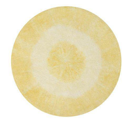 Lorena Canals Washable Rug Tie-Dye Yellow - Thirty Six Knots - thirtysixknots.com