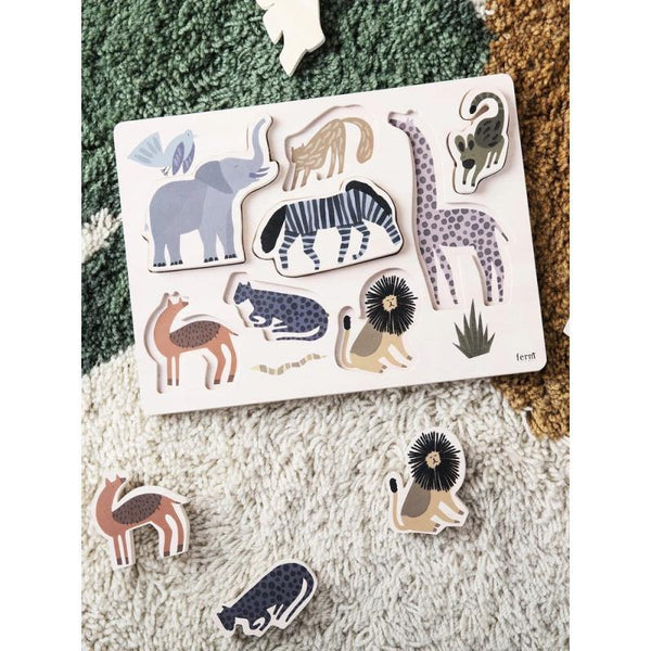 Ferm Living - Safari Puzzle - Thirty Six Knots - thirtysixknots.com