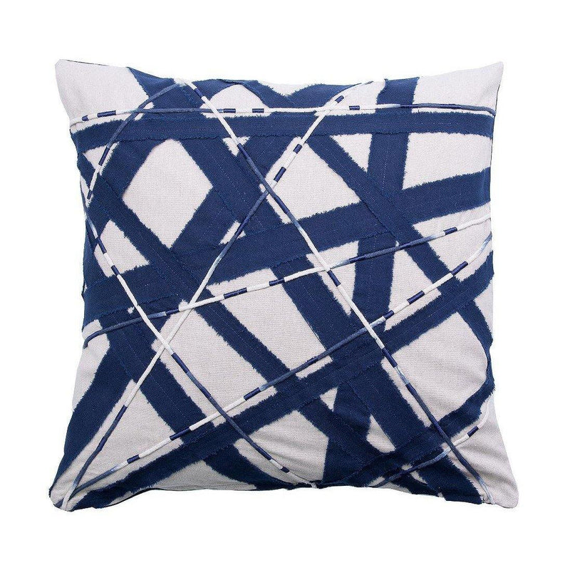 Pillow Piano 20 x 20 - Blue / Beige - Thirty Six Knots