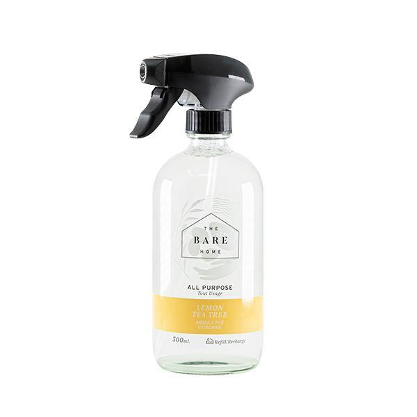 All Purpose Cleaner 500 mL Bottle - Lemon Tea Tree - The Bare Home - Thirty Six Knots - thirtysixknots.com