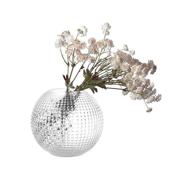Clear Glass Flora Vase - Thirty Six Knots