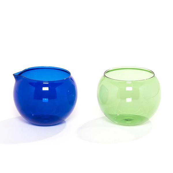 Fundamental Berlin Bubble Glass Milk and Sugar Set - Thirty Six Knots