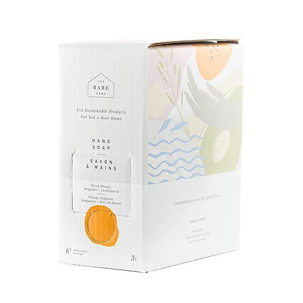 Hand Soap 3L Refill Box - Blood Orange, Bergamot, and Sandalwood - The Bare Home - Thirty Six Knots