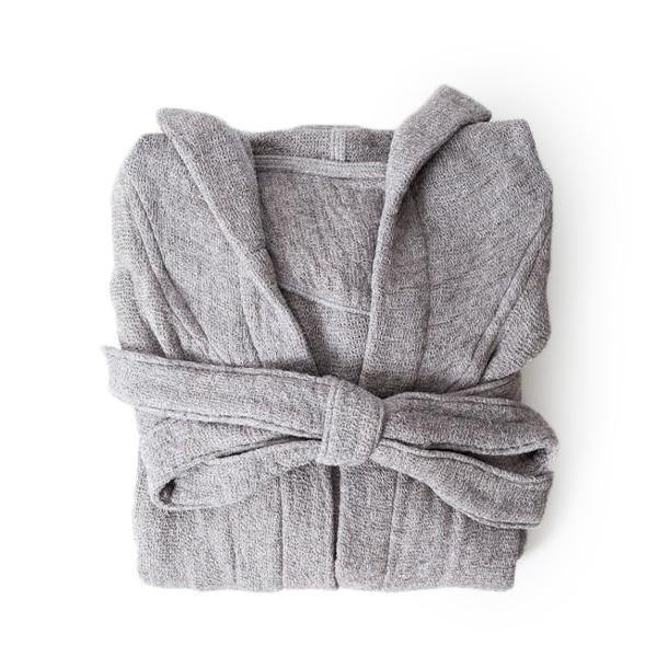 Lana Bathrobe - Grey - Thirty Six Knots