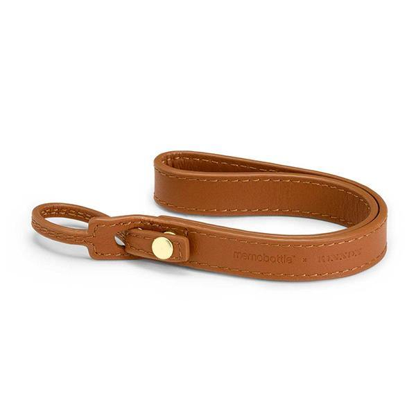 Memobottle Leather Lanyard - Tan - Thirty Six Knots - thirtysixknots.com