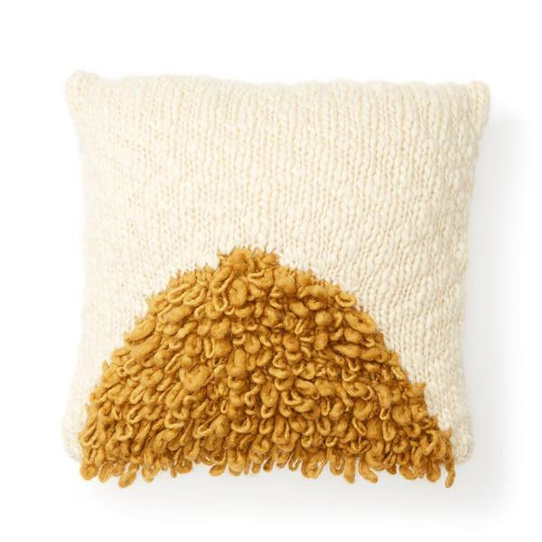 Moon Shag Pillow - Thirty Six Knots