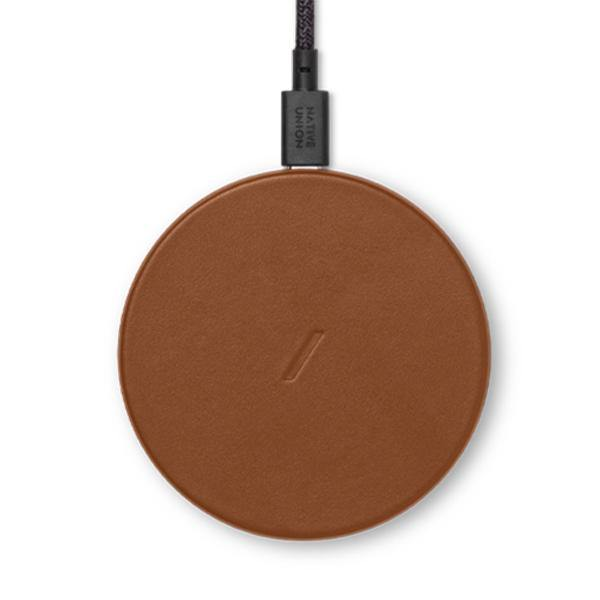 Native Union Drop Classic Leather Wireless Charger - Thirty Six Knots