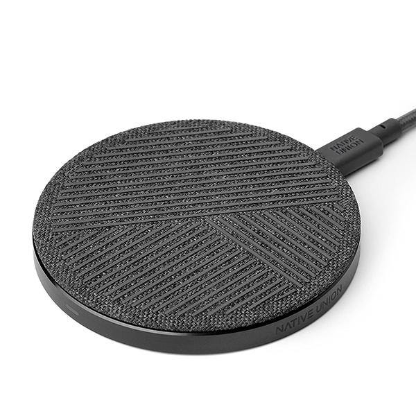 Native Union Drop Wireless Charger Slate - Thirty Six Knots - thirtysixknots.com