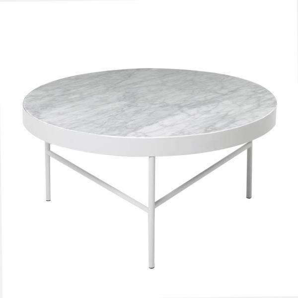 White Marble Coffee Table - Thirty Six Knots - thirtysixknots.com